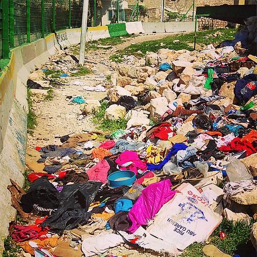 After Purim celebrations last week, #Israeli settlers dump… - Flickr