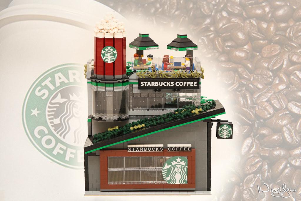 Lego MOC Starbucks Cafe (1) | Support LEGO IDEAS: ideas lego… | Flickr