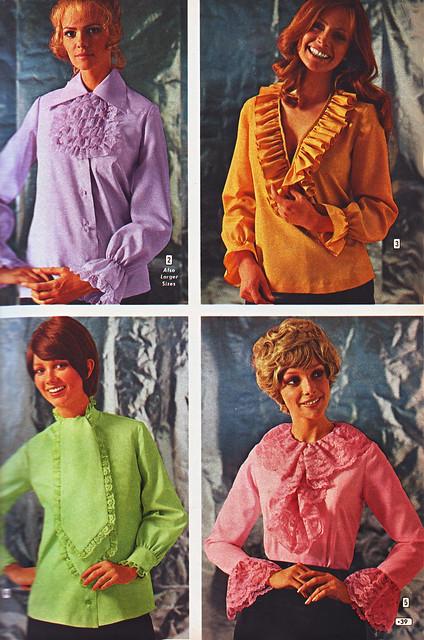 Aldens 70 fw color blouses