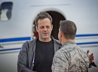 "USO Screening of Movie ""Unfinished Business"" with Vince Vaughn 