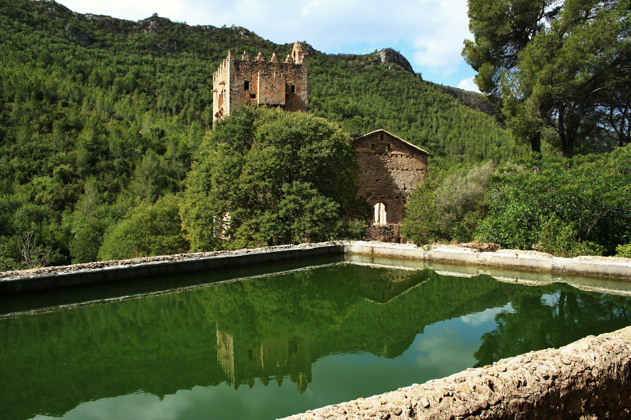 Ruinas del Monasterio de Los Jeronimos, La Murta, Alzira (España)