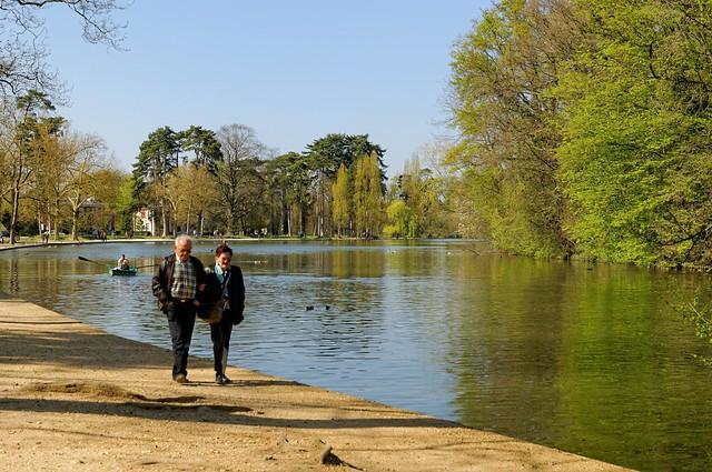 Paris : Bois de Vincennes promenade