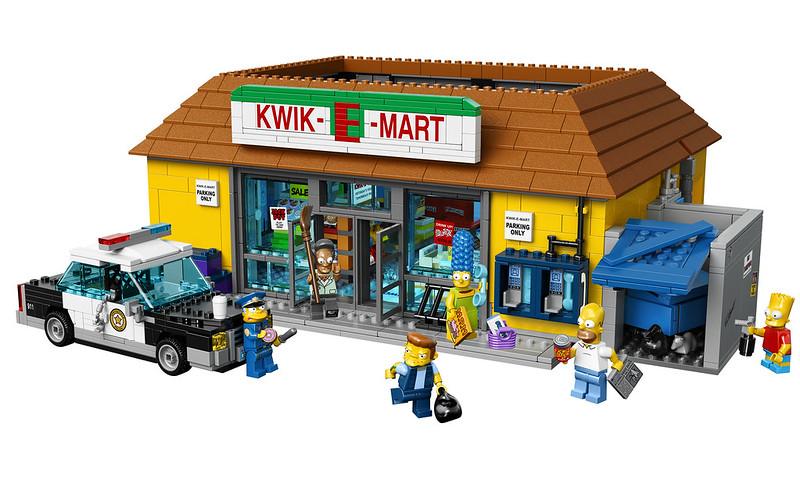 """LEGO 71016 Simpsons """"Kwik-E-Mart"""""""