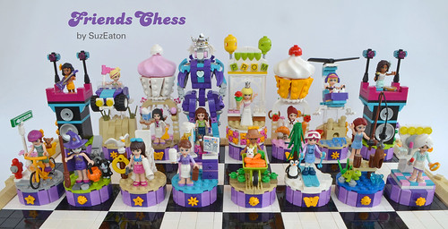 LEGO Friends Chess Set | by SuzEaton