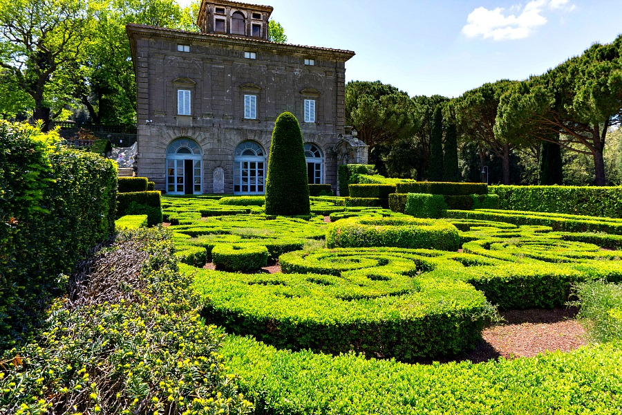 Villa Lante Bagnaia Italy Viterbo