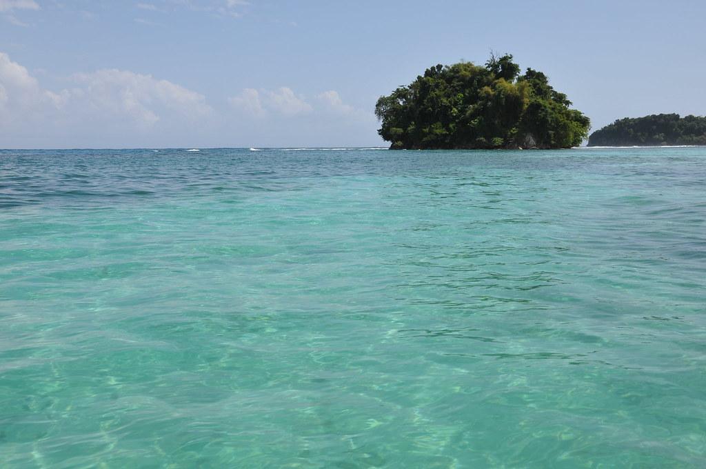 Monkey Island Near The Blue Lagoon On Jamaica Crown