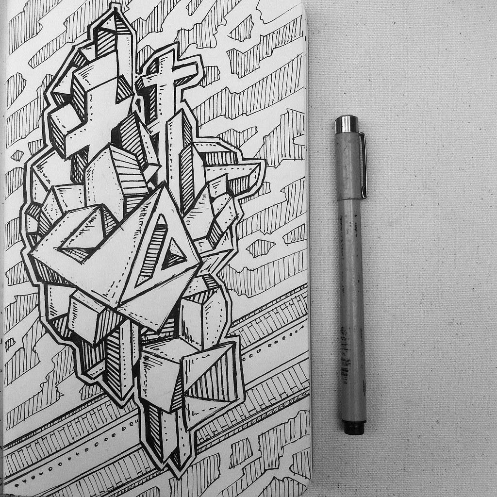 Abstract 3d Drawing Doodle Nikita Grabovskiy Flickr