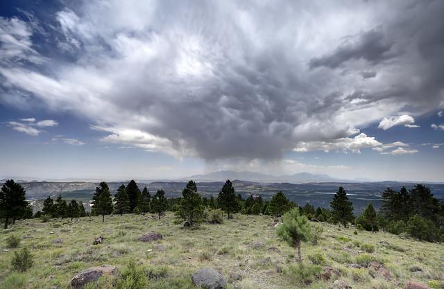 Virga, Larb Hollow Overlook, Dixie National Forest, Garfield County, Utah 2