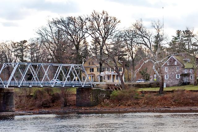 WASHINGTON CROSSING Bridge: McConkey Inn - Pennsylvania
