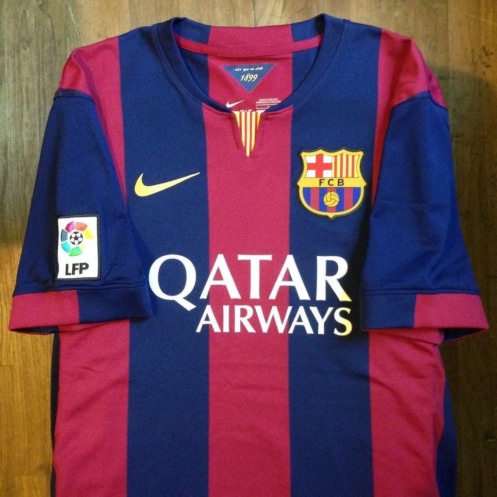 b2e0d150d ... 2014-2015 FC Barcelona Home Jersey