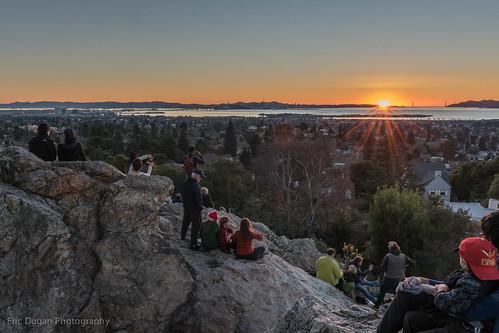 sanfrancisco sunset berkeley twilight bayarea newyearseve indianrockpark ericdugan