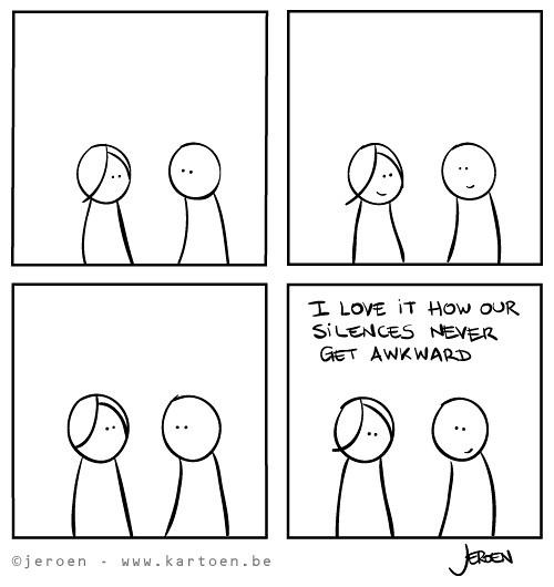 "Funny, Joke, Cartoon, Quote on Silent couple | ""The secret b… | Flickr"