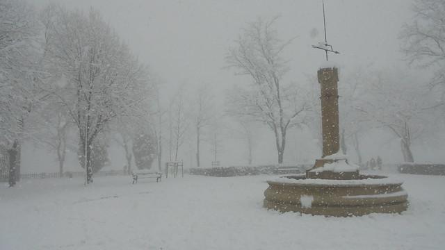 Nieve en Artxanda