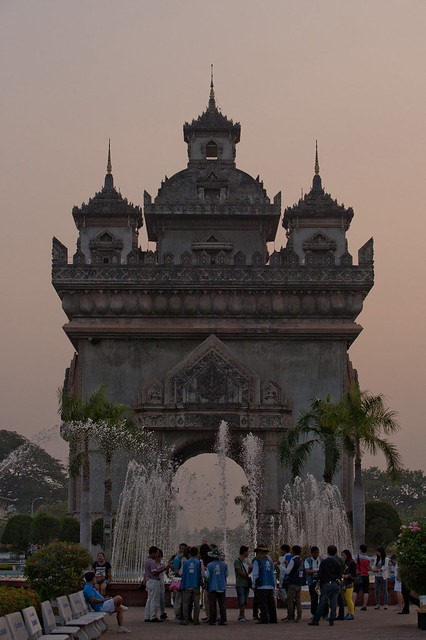 LAO105 Patousay - Vientiane 09 - Laos