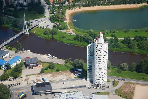 river europe estonia aerialview eesti tartu estland emajõgi photoimage sooc sonyalpha tartumaa sonyα geosetter geotaggedphoto nex7 фотоfoto year2016 selp18105g gpscalculator