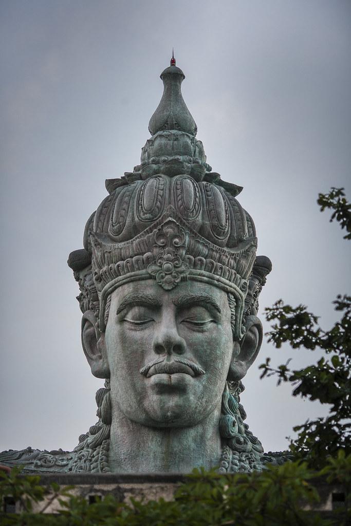 Bust Of Garuda Wisnu Kencana Statue In South Bali 4194 Flickr