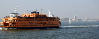 Staten Island Ferry and Statue of Liberty | by PhotoHenning