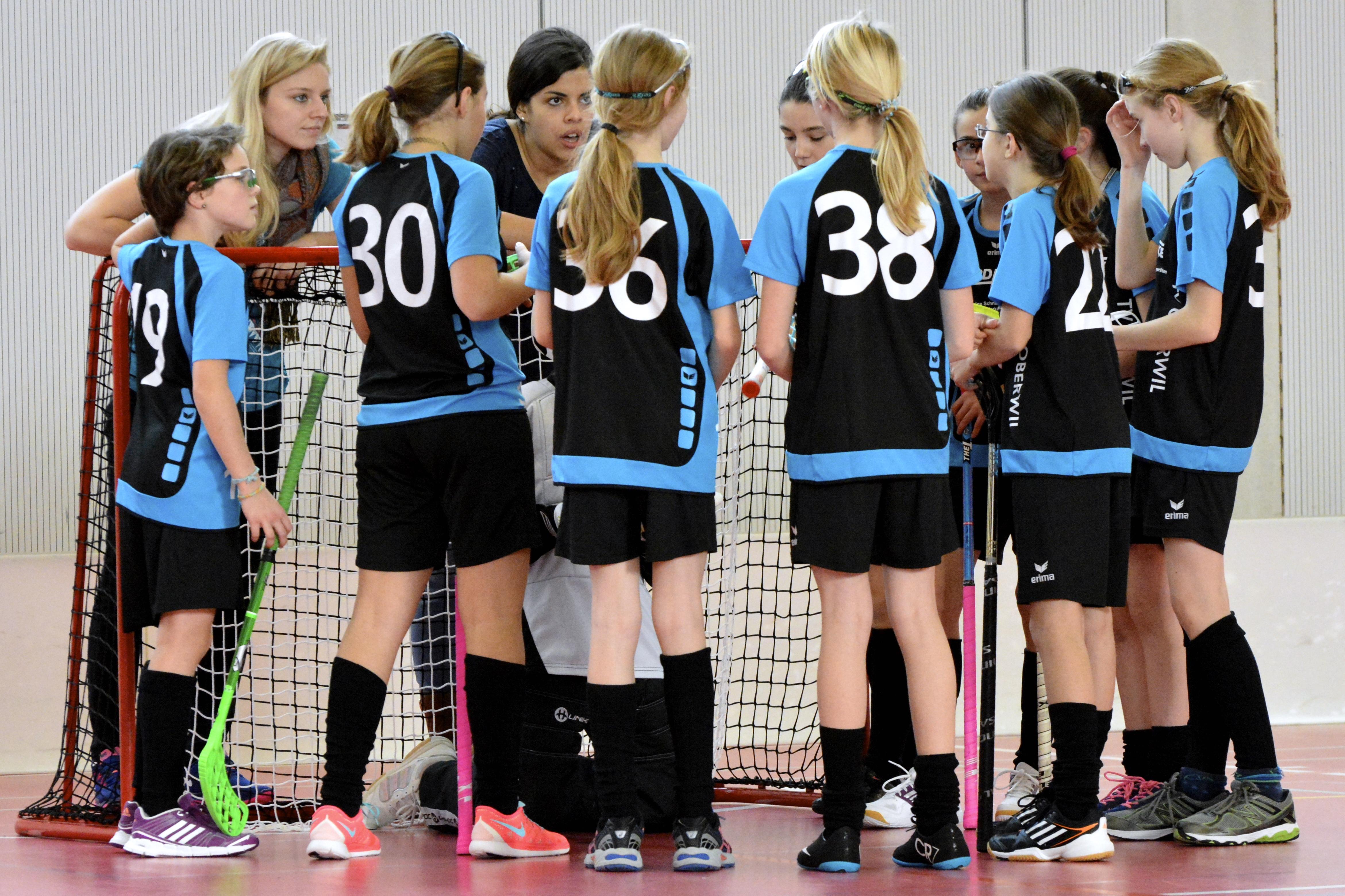 Juniorinnen C - TV Oberwil Saison 2014/15