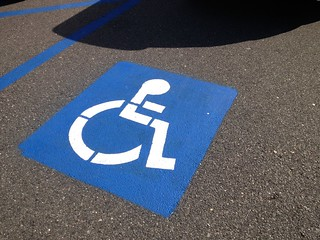 Accessible parking   by SmartSignBrooklyn