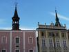 Jindřichův Hradec, náměstí Míru, vlevo Masné krámy, foto: Petr Nejedlý