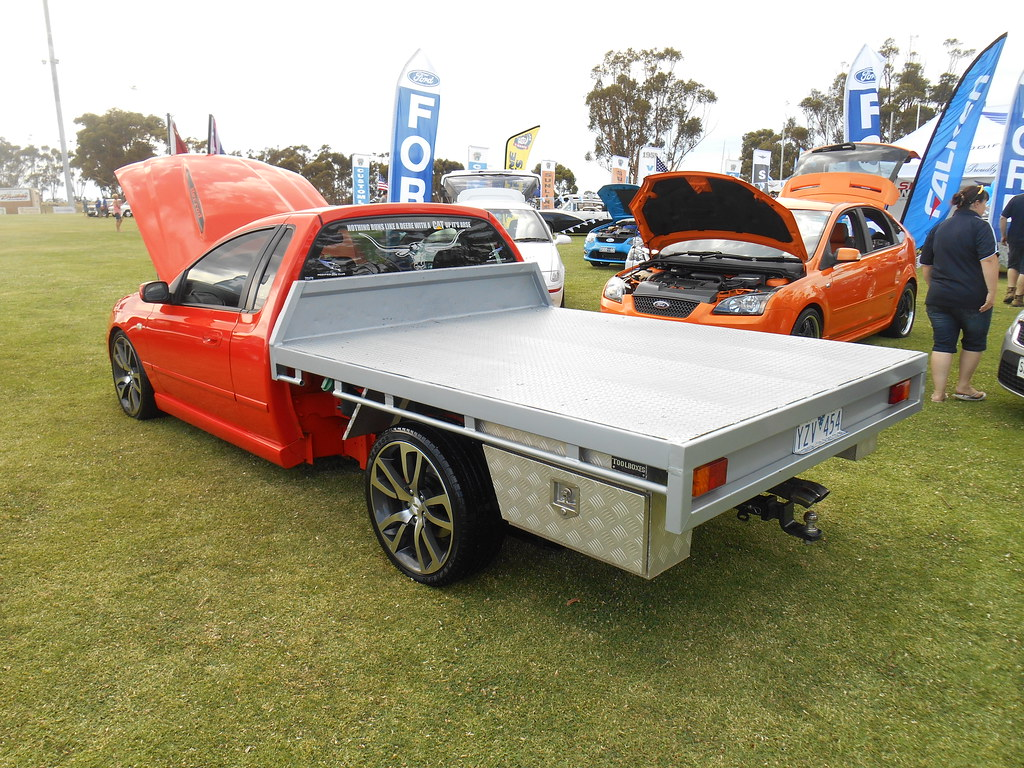 2006 Ford Bf Falcon Xr8 Tray Ute On Display Was This Rare Flickr