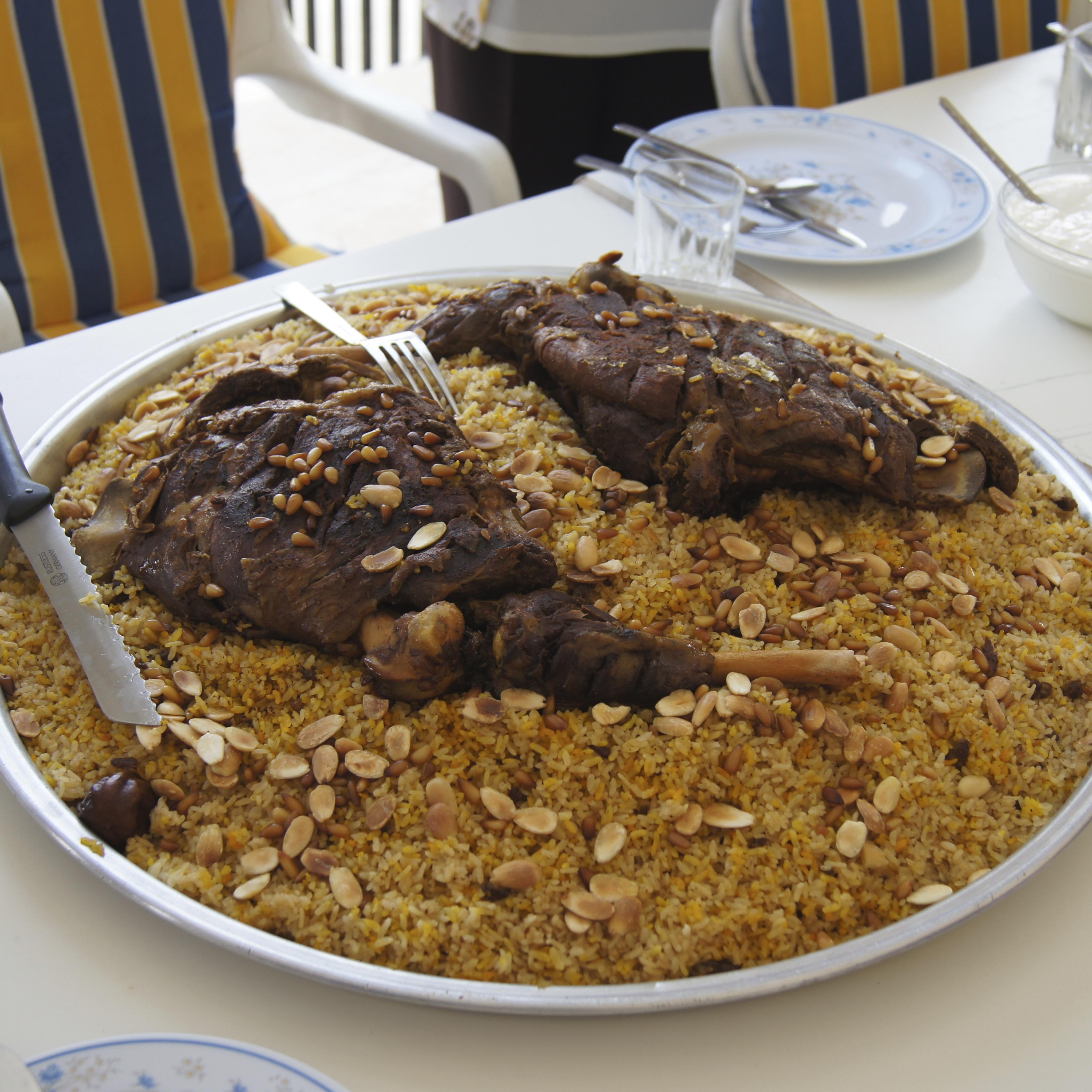 What I ate in Jordan: Food glorious food!