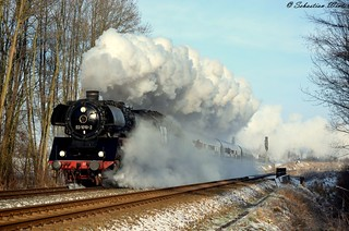 03 1010-2 mit SDZ bei Neudiedendorf am 24.01.2015 | by Photography Sebastian Winter