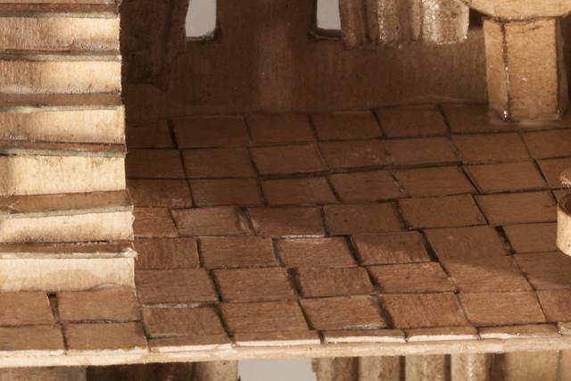 O Scale Cardboard House
