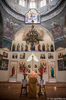 Литургия в Ильинском соборе 40