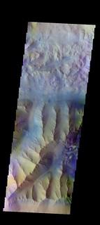 Ridges and rubble in Ius Chasma (THEMIS_IOTD_20160728)