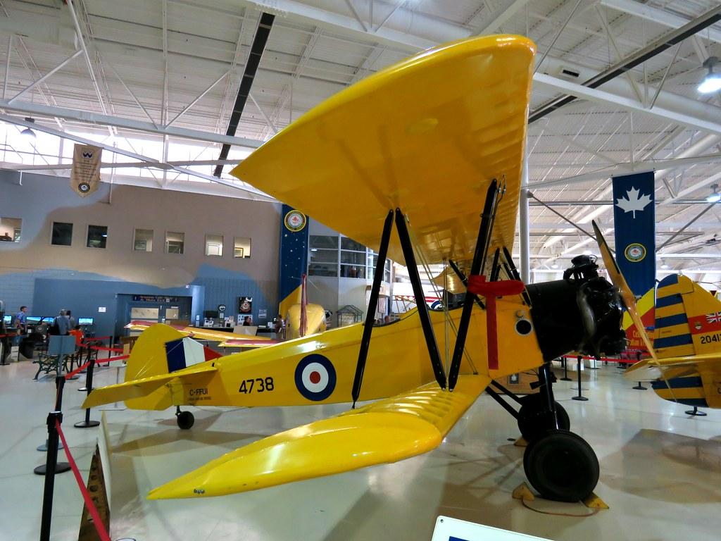 Fleet Finch, Canadian Warplane Heritage Museum, Hamilton