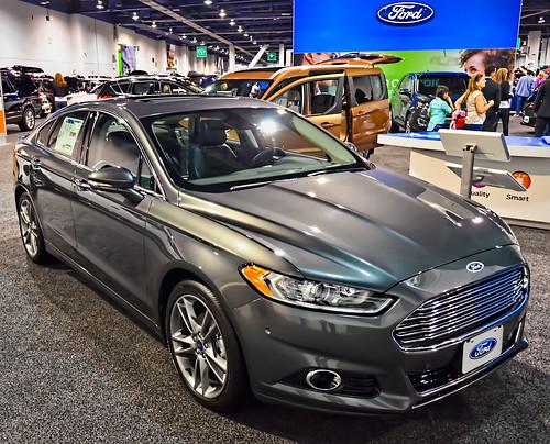 Ford 2015 Fusion Titanium Hybrid