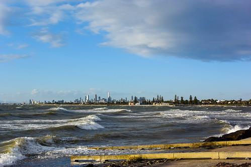 australia brightonbeach clouds sunset melbourne victoria windy cloud