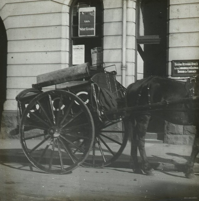 Street Cleaners Cart