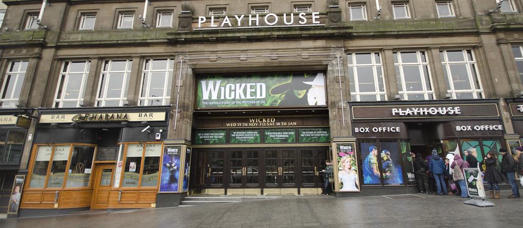 Edinburgh Playhouse, Broughton, Edinburgh