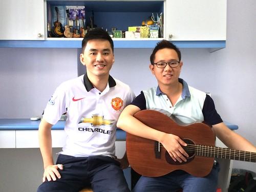 Adult guitar lessons Singapore Samuel