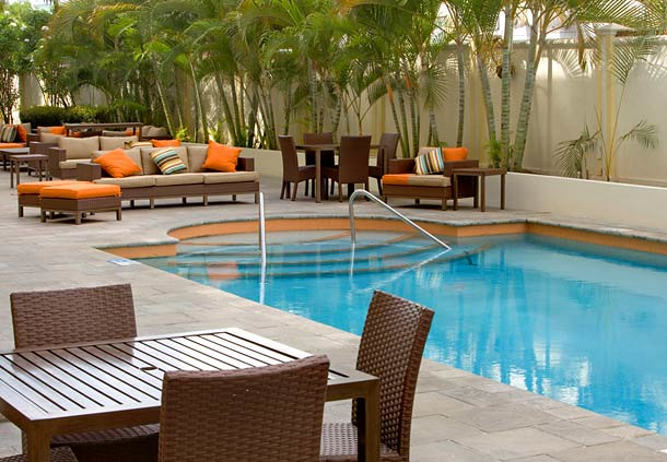 The Pool at the Courtyard Port of Spain