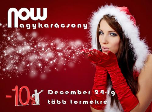 Keresse termékeinket Karácsonykor is.