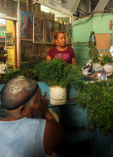 Market Vendor in the DR