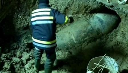 Bomba de 620 Kgs hallada en Belgrado