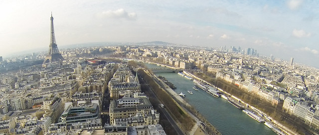Kite Above Paris France