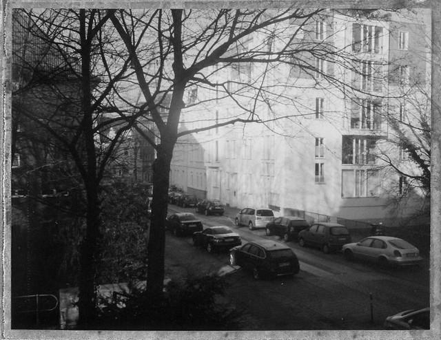 Rauhreif/ Hoarfrost in the city II - I shot film