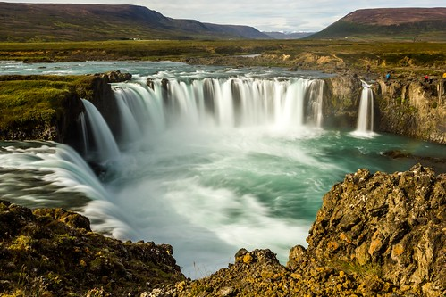 summer sky water canon waterfall iceland ngc ísland nationalgeographic godafoss goðafoss einarschioth