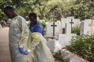 Safe and Dignified Burials in Guinea   by United Nations Photo