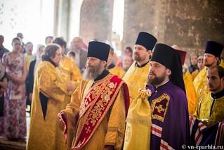 Литургия в Ильинском соборе 200