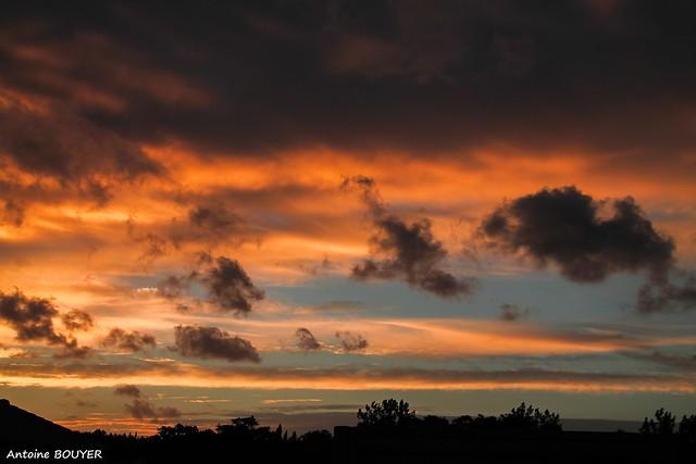 Somptueux coucher de soleil