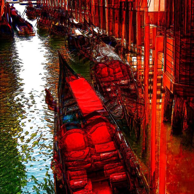 empty gondolas