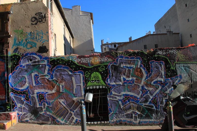 mur de Marseille