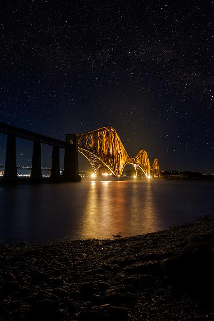 Forth Bridge Starscape