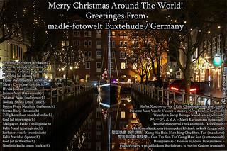 Frohe Weihnachten Ungarisch.Merry Christmas Around The World Mfw14 066718wors Xmas W